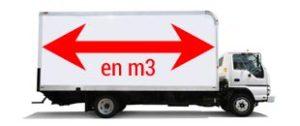 calcul du volume d'un camion
